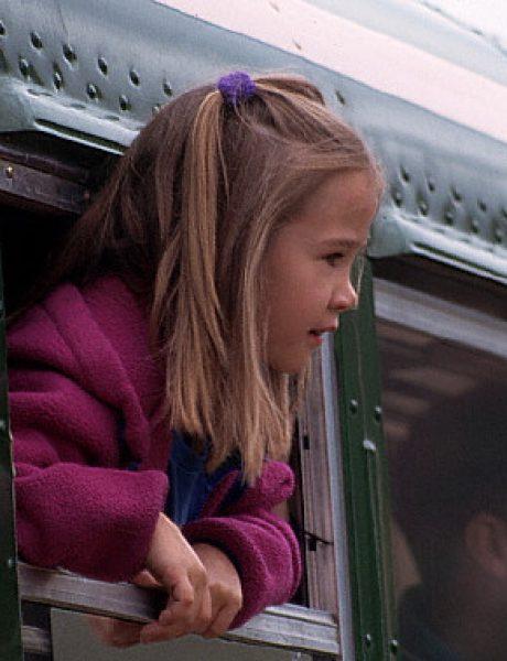 Skitajući sa Dunjom: Vožnja autobusom