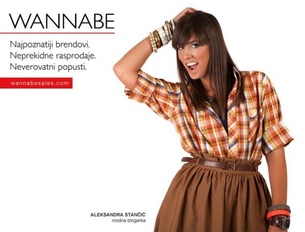 Aleksandra Stanc¦îic¦ü Wannabe Sales   promotivni editorijal