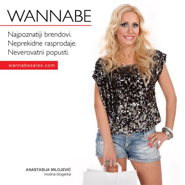 Anastasija Milojevic¦ü Wannabe Sales   promotivni editorijal
