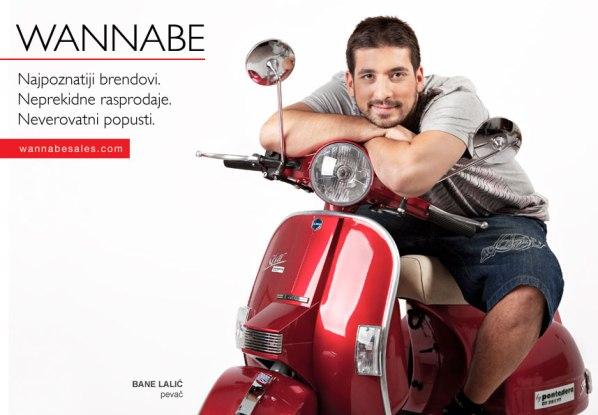 Bane Lalic¦ü Wannabe Sales   promotivni editorijal