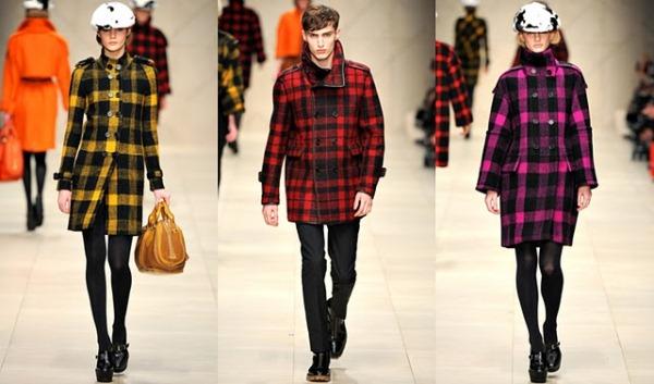 Burberry ready to wear jesen zima 2011 2012 Ove jeseni nosimo karirano!