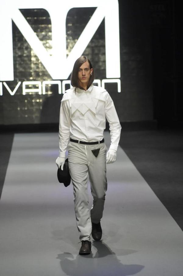DJT4220 IVANMAN U Belgrade Fashion Week: IVANMAN
