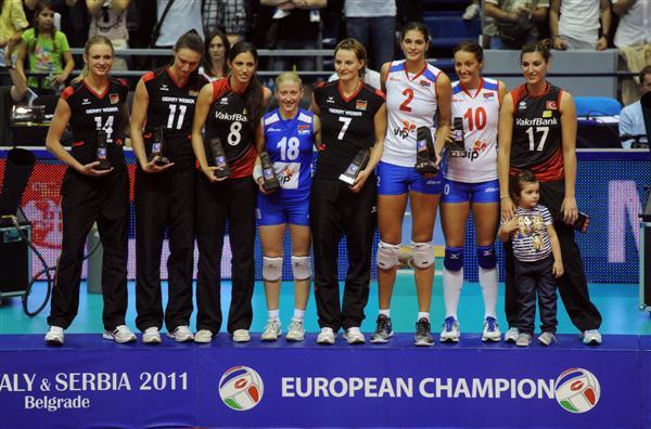 Idealni tim prvenstva s leva Kožuh First Darnel Ćebić Brakočević Ognjenović Toksoj Srcem za Srbiju, osmehom do zlata!