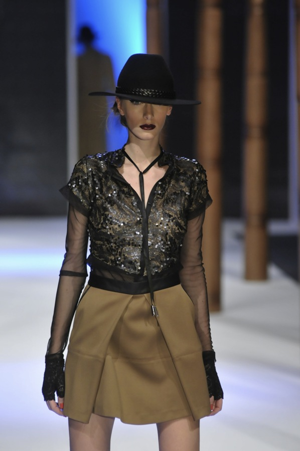 InesJankovic2 Šesto veče 30. Amstel Fashion Week a