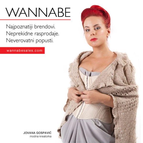 Jovana Gospavic¦ü Wannabe Sales   promotivni editorijal
