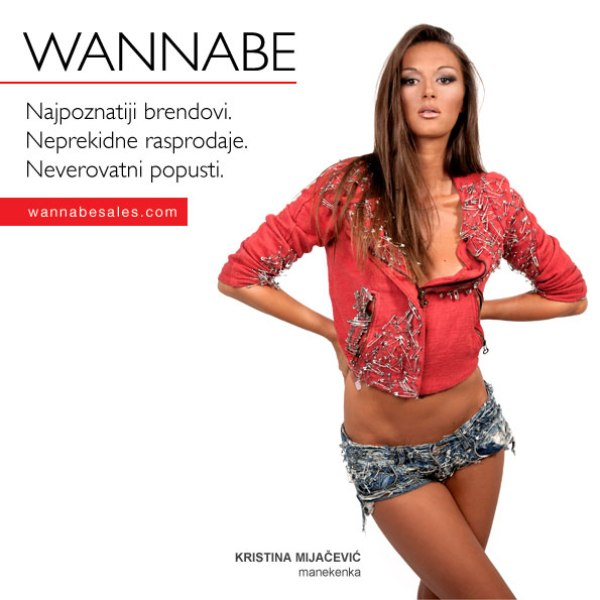 Kristina Mijac¦îevic¦ü Wannabe Sales   promotivni editorijal