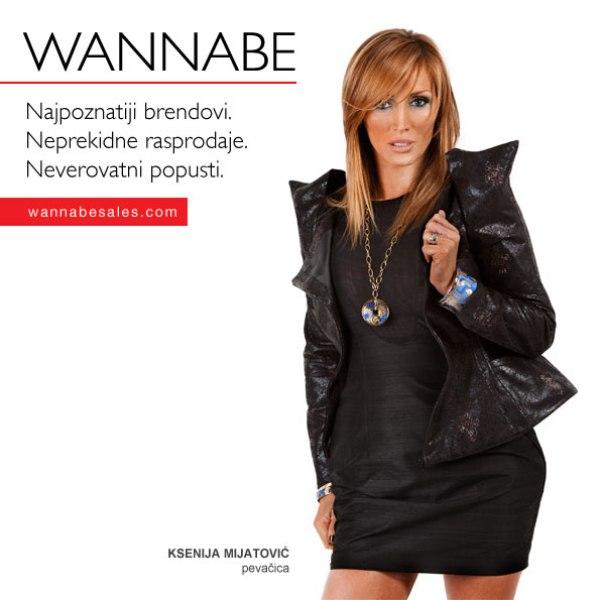 Ksenija Mijatovic¦ü Wannabe Sales   promotivni editorijal