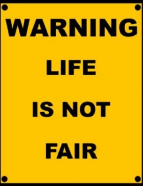 (ne)Pravednost – život ne toleriše papuče