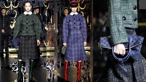 Louis Vuitton Ready To Wear jesen zima 2011 2012 Ove jeseni nosimo karirano!