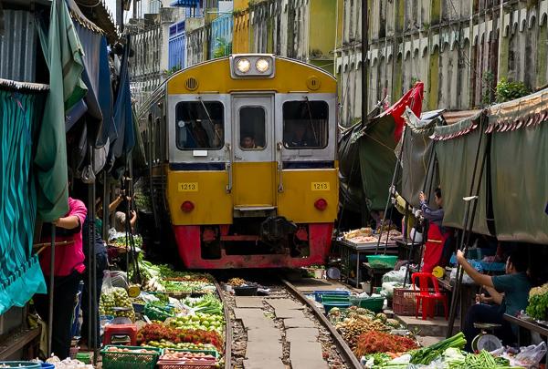 Maeklong Market Gde se nalaze najživopisnije pijace na svetu?
