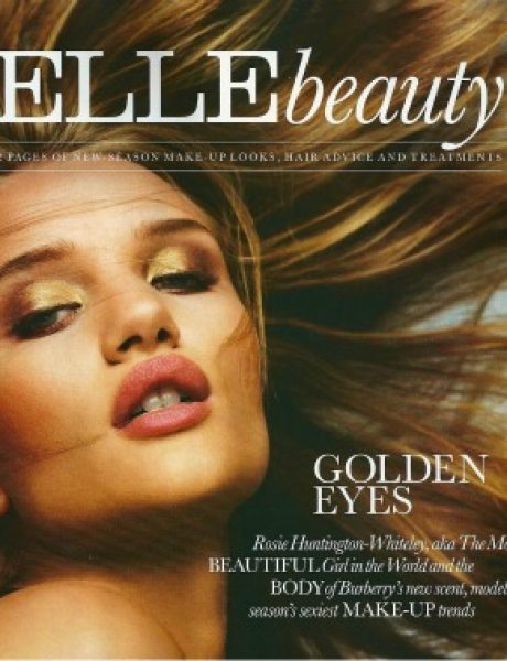 """Elle UK"" Beauty: Predlozi za oktobar uz Rosie Huntington-Whiteley"