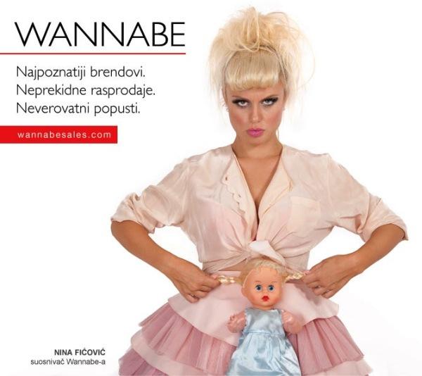 Nina Fic¦üovic¦ü Wannabe Sales   promotivni editorijal