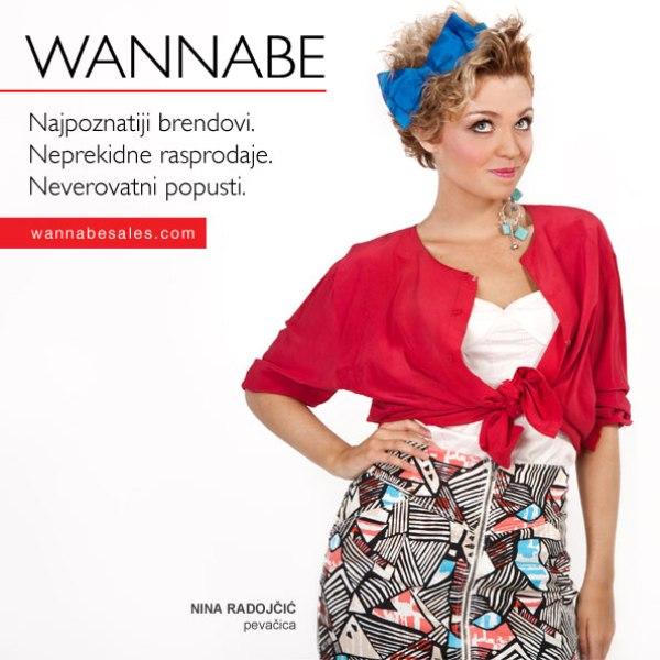 Nina Radojc¦îic¦ü Wannabe Sales   promotivni editorijal