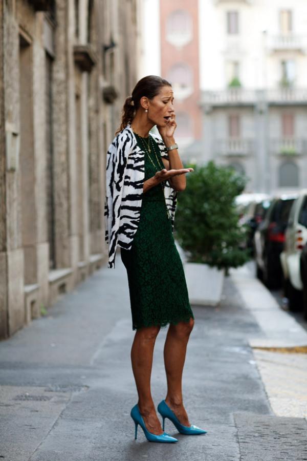 On the Street….Via Morelli Milan The Sartorialist Street Style: moderno i klasično