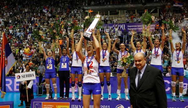 Prvakinje Evrope Srcem za Srbiju, osmehom do zlata!