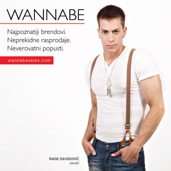 Rade Davidovic¦ü Wannabe Sales   promotivni editorijal