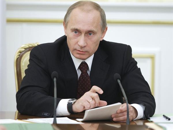 Slika 121 Vladimir Putin – Alfa mužjak političke scene