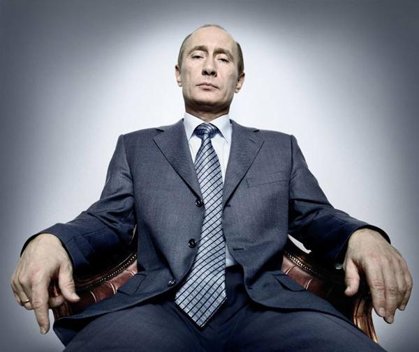 Slika 313 Vladimir Putin – Alfa mužjak političke scene