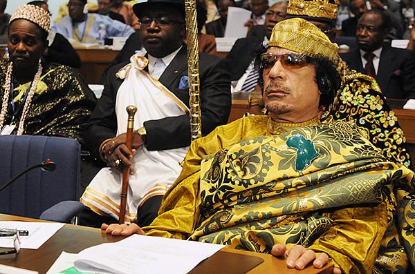 Slika 33 Gadafi Fashion Icon