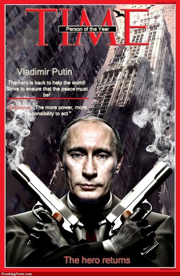 Slika 511 Vladimir Putin – Alfa mužjak političke scene