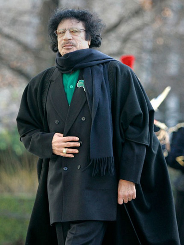 Slika 63 Gadafi Fashion Icon