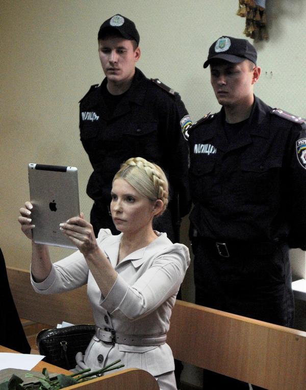 Slika 66 Julija Timošenko – plemkinja iz naroda