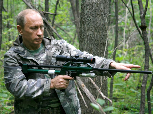 Slika 71 Vladimir Putin – Alfa mužjak političke scene
