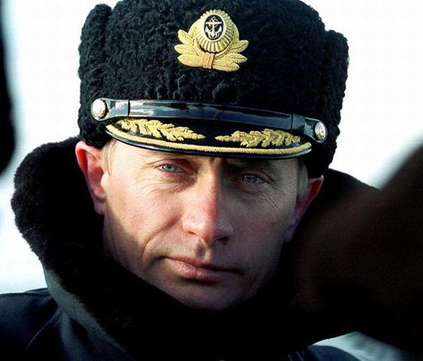 Slika 9 Vladimir Putin – Alfa mužjak političke scene