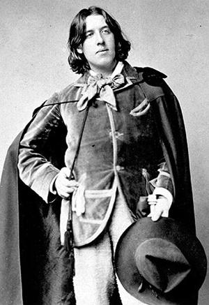 Slika1.2 Ljudi koji su pomerali granice: Oscar Wilde