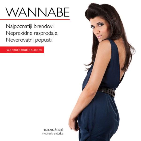 Tijana Z¦îunic¦ü Wannabe Sales   promotivni editorijal