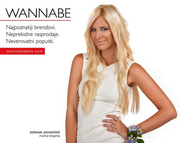 Zorana Jovanovic¦ü Wannabe Sales   promotivni editorijal