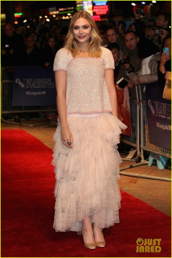 elizabeth olsen london premiere 05 picnik Trach Up   Ashton čeka bebu?