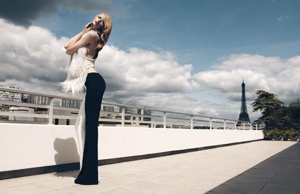 "Katrin Thormann za ""Marie Claire Italia"", oktobar 2011."