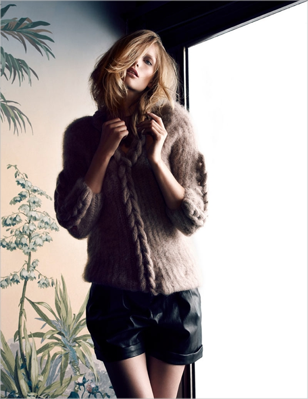 "katrin thormann9 Katrin Thormann za ""Marie Claire Italia"", oktobar 2011."