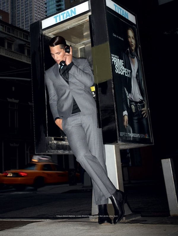 loukraine10 Ollie Edwards za jesenji L'Officiel Hommes Ukraine  Stil plejboja