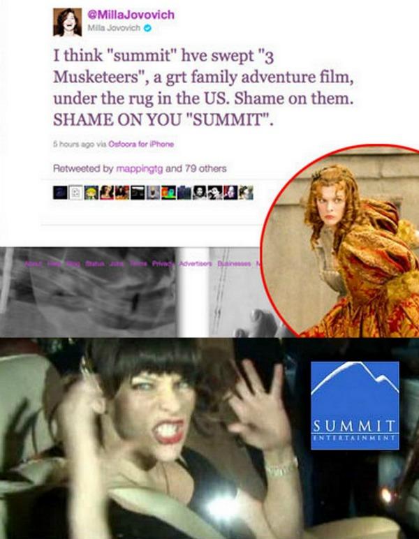 mila jovovich Trach Up   Russell Brand tražen na Twitter u!