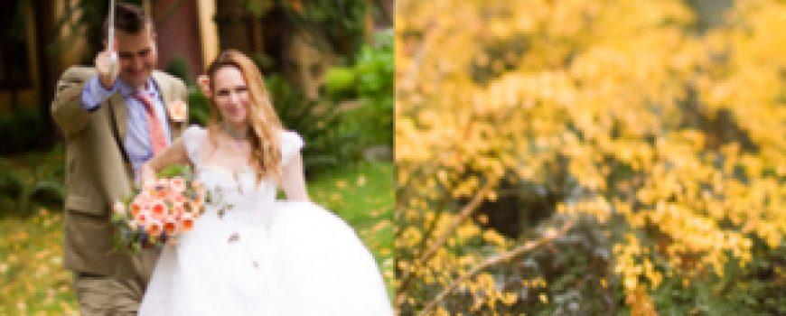 Under the Veil of a Fairytale: Jesenja venčanja