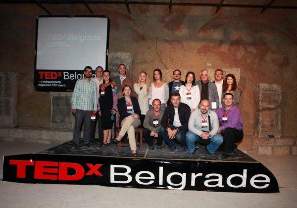 predavaci TEDxBelgrade konferencija – ideje uspešno podeljene!