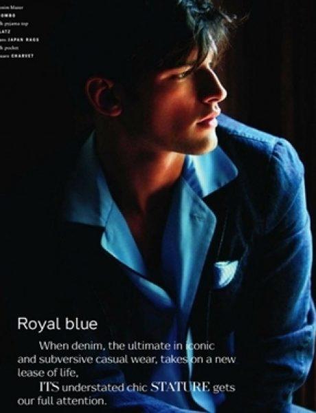 """Sean O'Pry za jesenji """"Vogue Hommes International"""""""