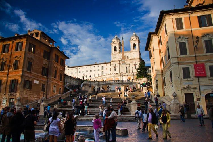 spanske stepenice u Rimu Najlepše filmske lokacije