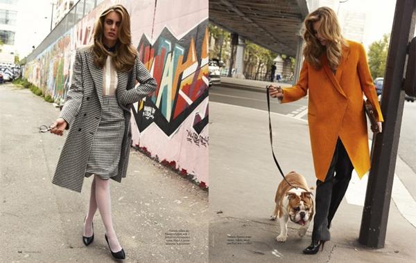 """tara asa elle ru 061 Tara Jean za """"Elle Russia"""", oktobar 2011."""