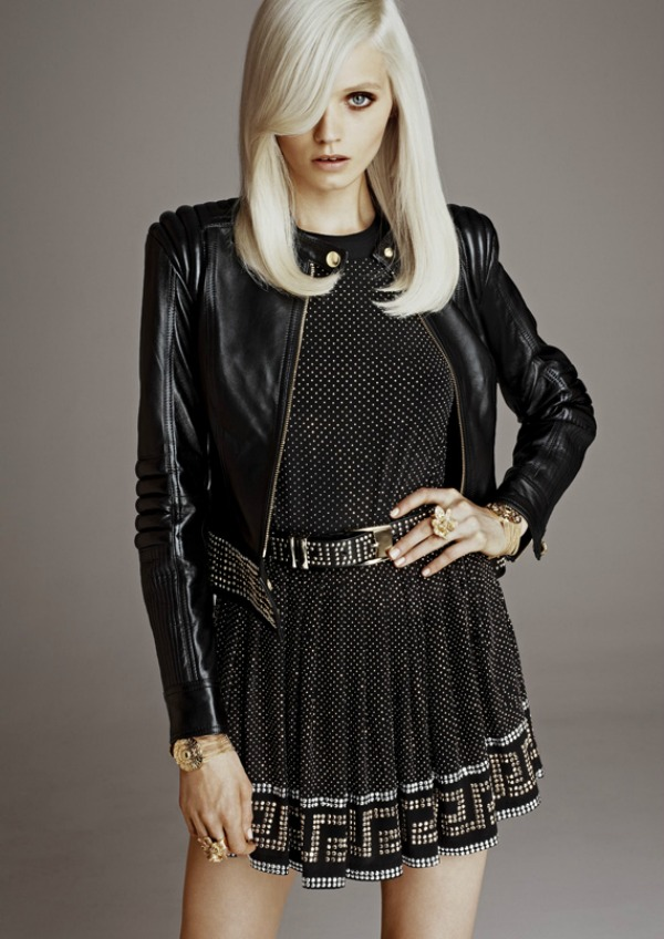 versace x hm lookbook w 02 Donatella Versace za H&M