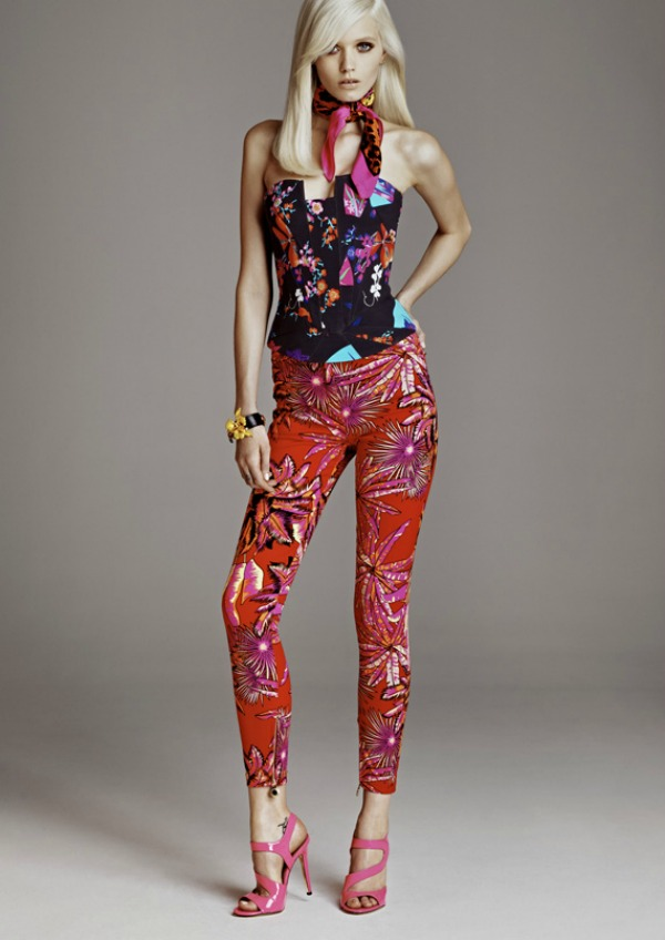 versace x hm lookbook w 03 Donatella Versace za H&M