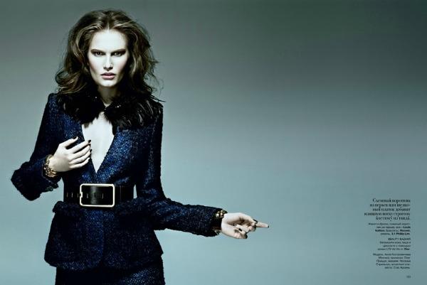 "010 Alla Kostromichova za ukrajinski ""Harper's Bazaar"""
