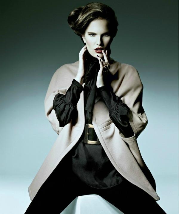 "0110 Alla Kostromichova za ukrajinski ""Harper's Bazaar"""