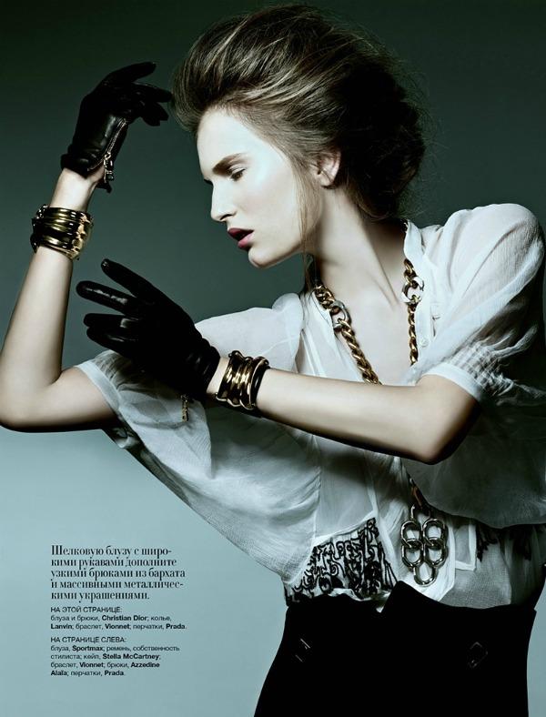 """02 picnik4 Alla Kostromichova za ukrajinski """"Harper's Bazaar"""""""