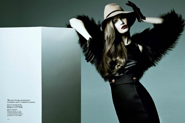 "036 Alla Kostromichova za ukrajinski ""Harper's Bazaar"""