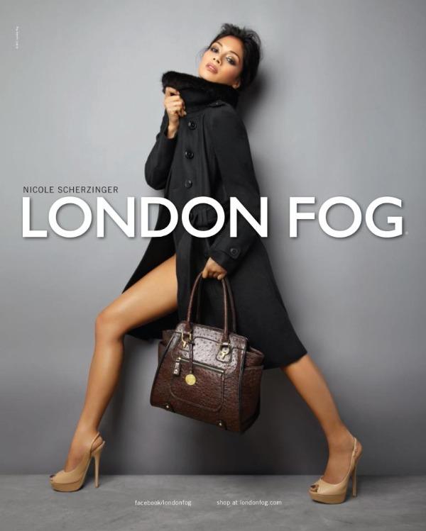 083 Seksi Nicole obožava kapute London Fog