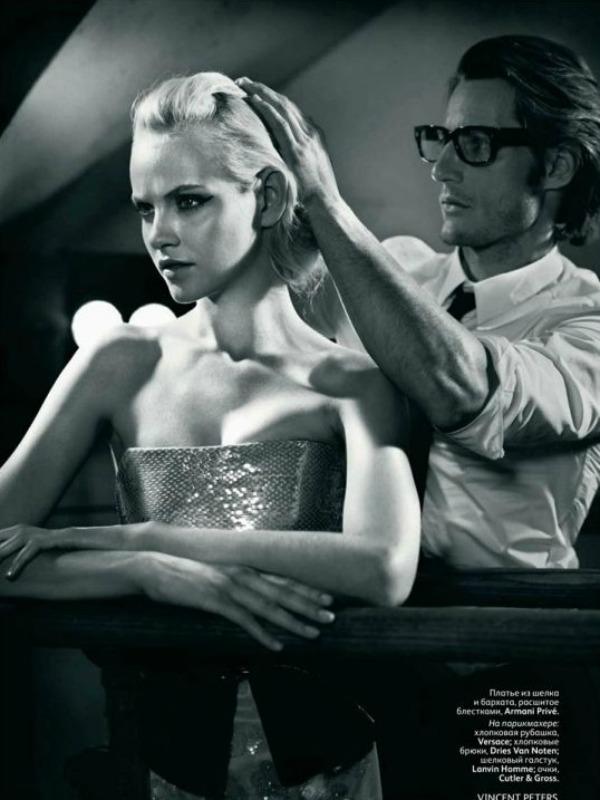 09 picnik1 Neodoljiva Ginta Lapiņa za Vogue Russia