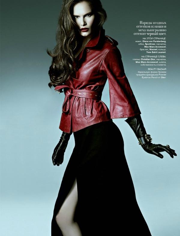 """09 picnik2 Alla Kostromichova za ukrajinski """"Harper's Bazaar"""""""
